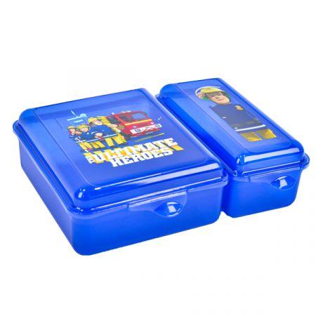 קופסת אוכל שני תאים - סמי הכבאי