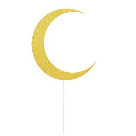 קיסמים מעוצבים ירח עיד מובארק זהב 12 יח
