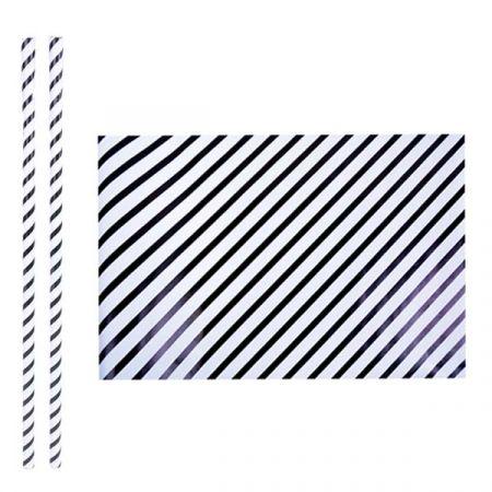 נייר עטיפה פסים דוגמא 3 - 2 יח - 70X1 מטר