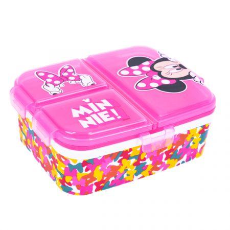 קופסת אוכל מולטי XL ארבעה תאים - מיני