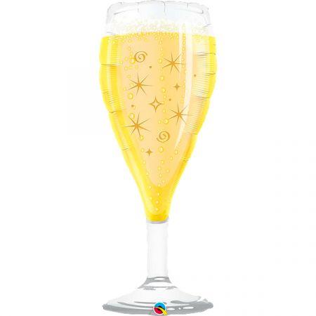 בלון Q39 כוס שמפניה - 1 יח