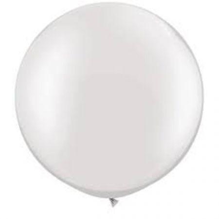בלון Q30 פרל לבן - 2 יח בשקית (מחיר ליח)