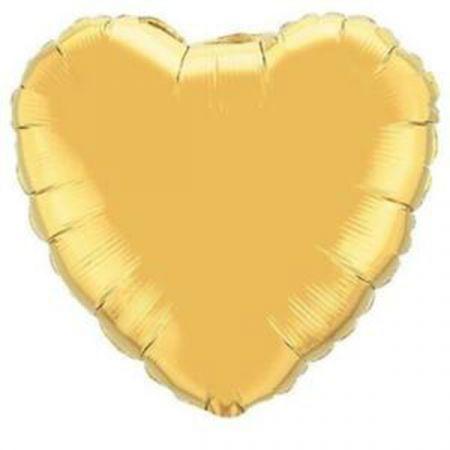 בלון מיילר Q36 לב זהב (לא ארוז) 1יח