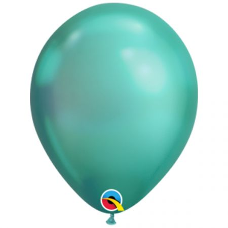 בלון Q7 כרום ירוק - 100 יח