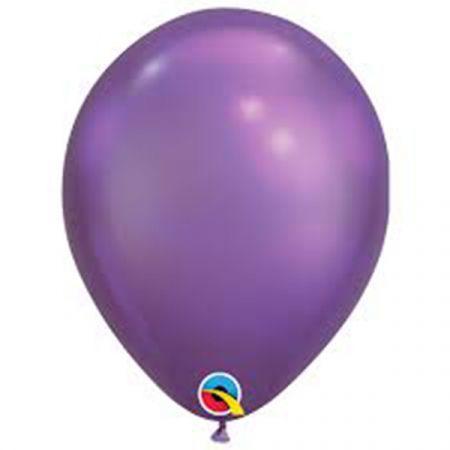 בלון Q7 כרום סגול - 100 יח