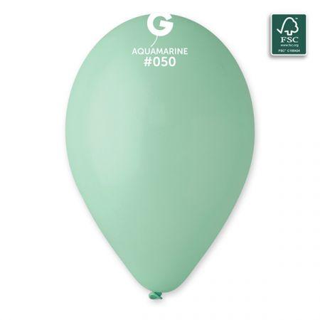 בלון G120 אקווהמרין 50 - 50 יח