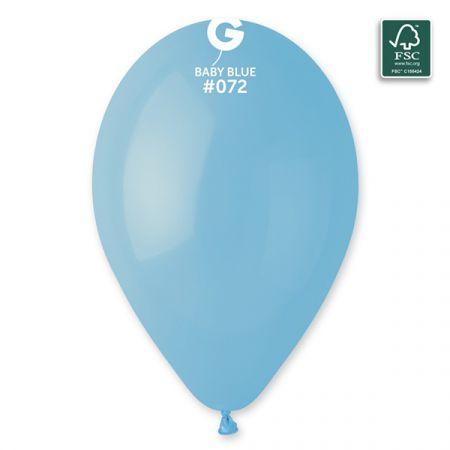 בלון G120 כחול בייבי 72 - 50 יח