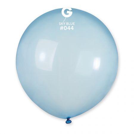 בלון G150 קריסטל כחול 044 - 25 יח