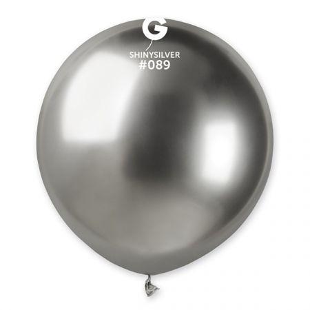 בלון G150 מבריק כסף 089 25 יחי