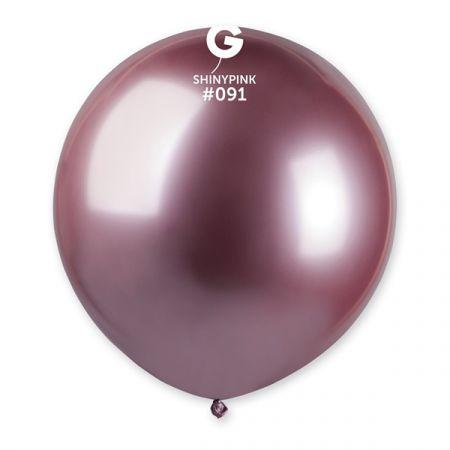בלון G150 מבריק 091 - ורוד 25 יח