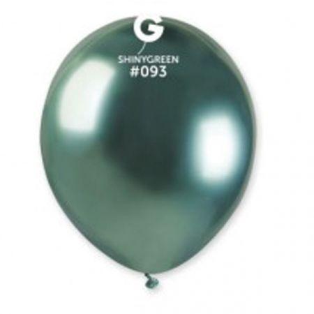 בלון מבריק 5'' AB50 - ירוק 100 יח