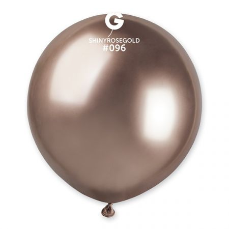 בלון G150 מבריק רוז גולד 096 - 25 יח