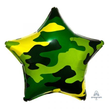 בלון מיילר 18 - בצורת כוכב צבעי הסוואה