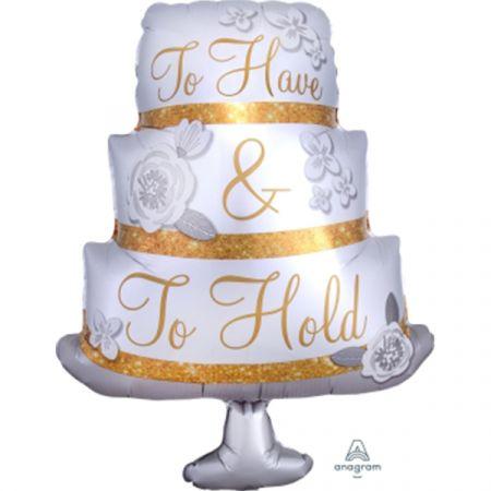 בלון מיילר 29 צורות - עוגה TO HAVE AND TO HOLD