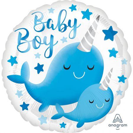 בלון מיילר 18 - הולדת בן לוויתן כחול