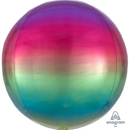 בלון מיילר 15- תלת מימד ORBZ צבעי הקשת - אומברה
