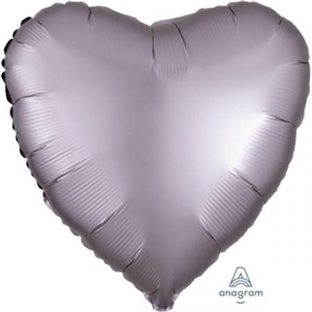 בלון מיילר 18-חלק לב סגלגל מט כרום אנגרם