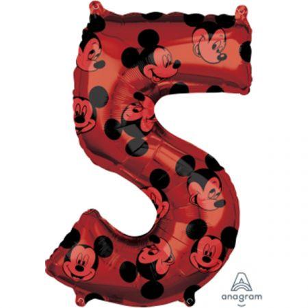 בלון מיילר 26 - מיקי אדום ספרה 5