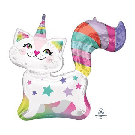 בלון מיילר 31- בצורת חתול עם קרן