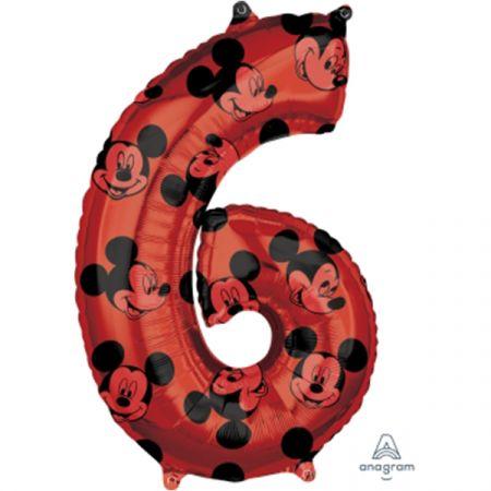 בלון מיילר 26 - מיקי אדום ספרה 6