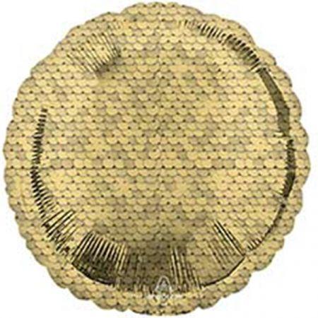 בלון מיילר 18 הדפס פייטים זהב