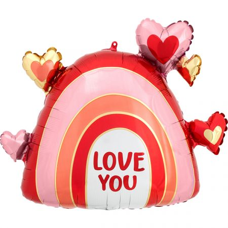 בלון מיילר 26 בצורת קשת - אהבה