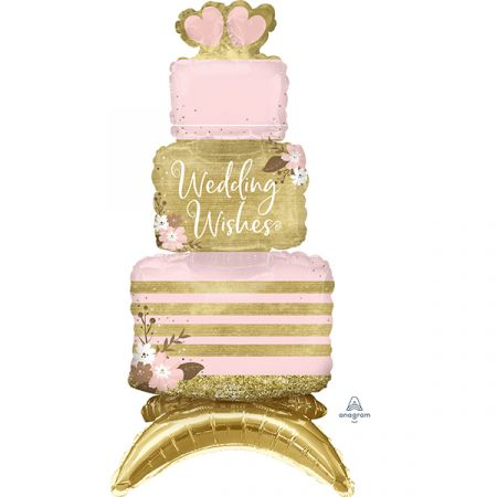 בלון מיילר 25 מרכז שולחן - עוגת חתונה
