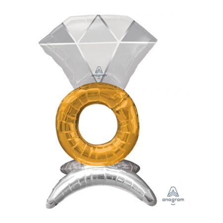 בלון מיילר 21 מרכז שולחן - טבעת נישואין