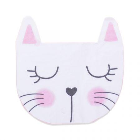 מפיות נייר צורני- 12 יח חתול זהב